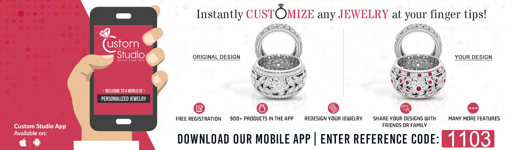 Customize Any Jewelry Instantly
